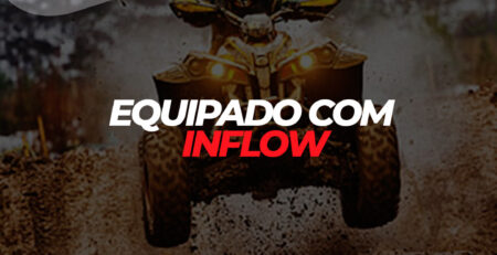 equipado com inflow